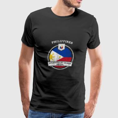 Philippines It's Where My Legend Begins - Men's Premium T-Shirt