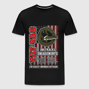 2nd Assault amphibian battalion - Men's Premium T-Shirt