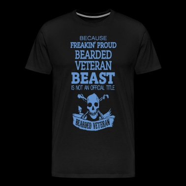 Bearded veteran beast - Men's Premium T-Shirt