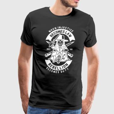 Rebellion Becomes Duty - Men's Premium T-Shirt