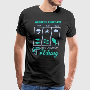 Weekend Fishing T Shirt - Men's Premium T-Shirt