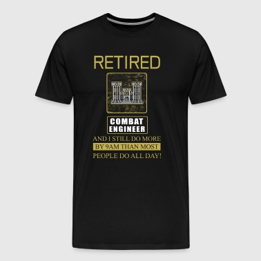 Combat Engineer Retired - Men's Premium T-Shirt