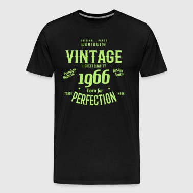 VINTAGE BIRTHDAY Gift 1966 - Men's Premium T-Shirt