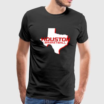HOUSTON BASKETBALL - Men's Premium T-Shirt