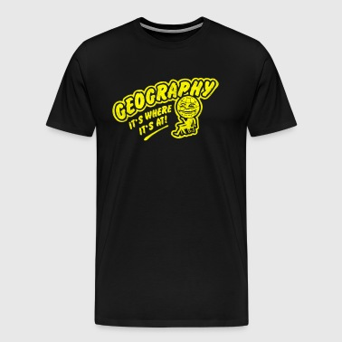 Geography - Men's Premium T-Shirt