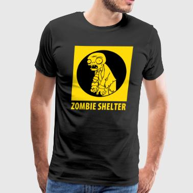 Zombie Shelter - Men's Premium T-Shirt