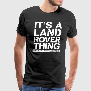 A Land Rover - Men's Premium T-Shirt