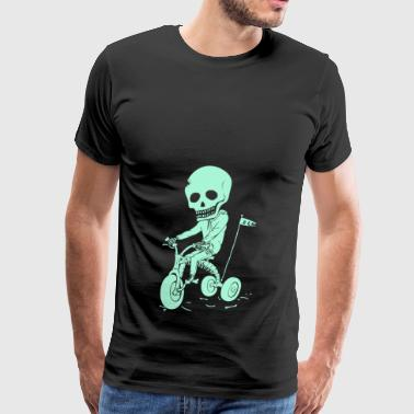 Death Kid Bone Ride - Men's Premium T-Shirt