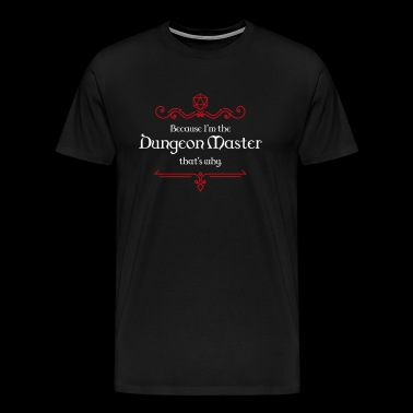Dungeon Master Dungeons and Dragons Inspired - Men's Premium T-Shirt
