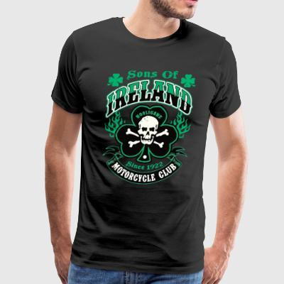 Sons Of Ireland Hooligans Motorcycle Club Irish - Men's Premium T-Shirt
