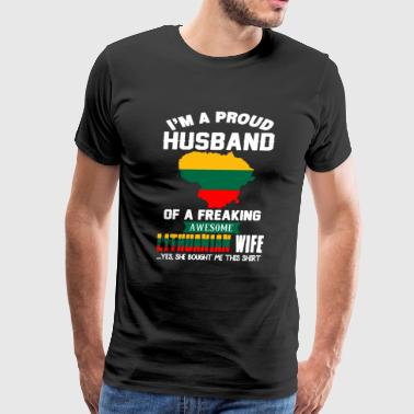 Lithuanian T Shirts - Men's Premium T-Shirt