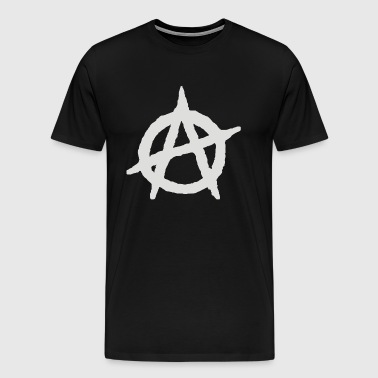 Anarchy Anarchist Symbol - Men's Premium T-Shirt