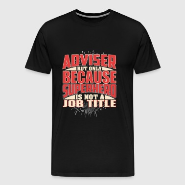 Adviser Superhero - Men's Premium T-Shirt