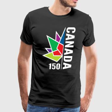 Canada 1867- 2017 Flag - Men's Premium T-Shirt