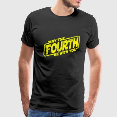 May The Fourth Be With You T shirt - Men's Premium T-Shirt