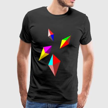 colour bricks - Men's Premium T-Shirt