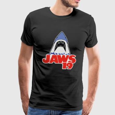 Jaws 19 - Men's Premium T-Shirt