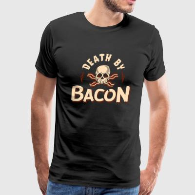 Death By Bacon - Men's Premium T-Shirt