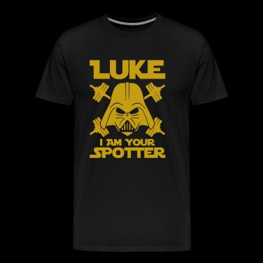 Luke I Am Your Spotter - Men's Premium T-Shirt