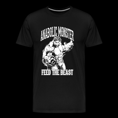 Anabolic Fitness Monster Gym - Men's Premium T-Shirt