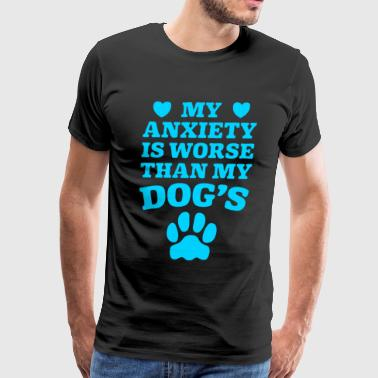 Dog Anxiety - Men's Premium T-Shirt
