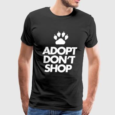 Adopt Dont Shop - Men's Premium T-Shirt