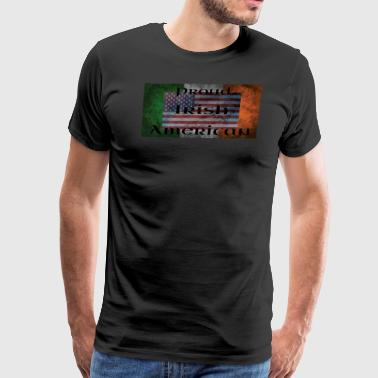 proud irish american - Men's Premium T-Shirt