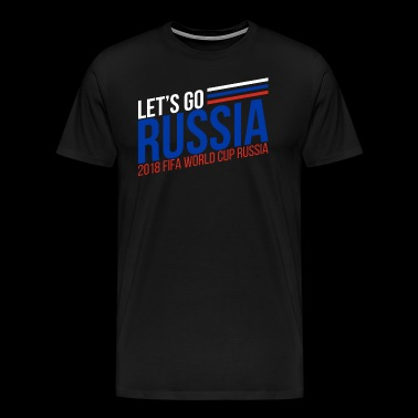 Russia World cup - Men's Premium T-Shirt