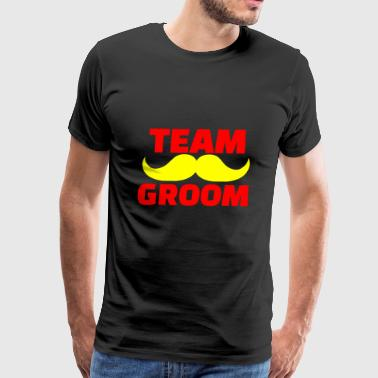 GIFT - TEAM GROOM RED - Men's Premium T-Shirt