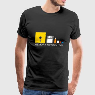 memory revolution generation software present gift - Men's Premium T-Shirt