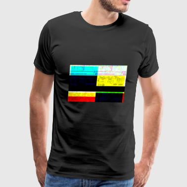 Schematic Freakout v2 - Men's Premium T-Shirt