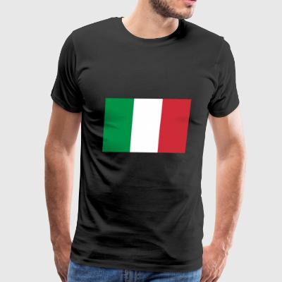 italy country flag love my land patriot - Men's Premium T-Shirt