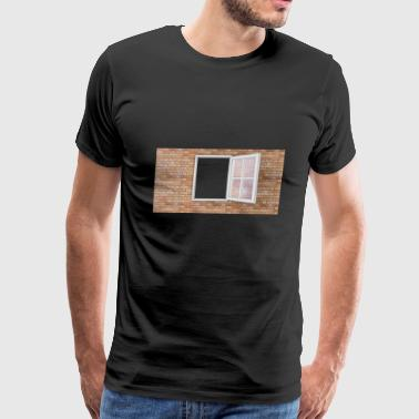 building house homes architektur haus gebaeude357 - Men's Premium T-Shirt