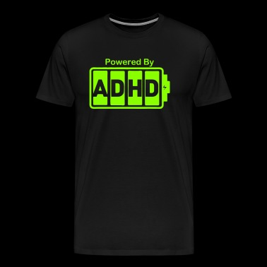 Battery Powered ADHD Energy - Men's Premium T-Shirt