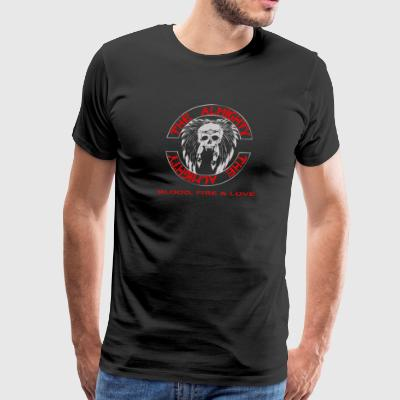Blood fire love - Men's Premium T-Shirt