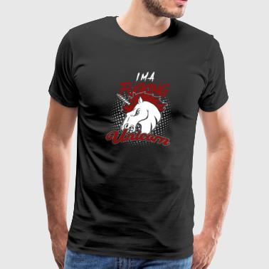 Fucking Unicorn! Crazy! Funny! - Men's Premium T-Shirt