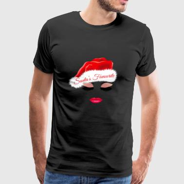 Santa's Favorite. Christmas Gifts. Bestselling - Men's Premium T-Shirt