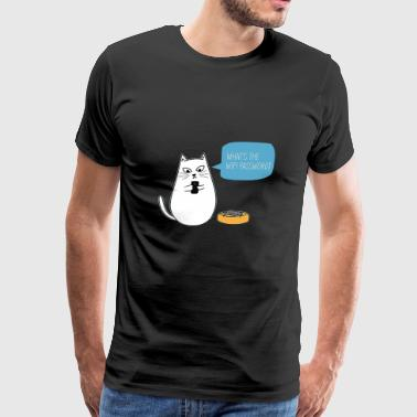 cute kawaii cat - Men's Premium T-Shirt