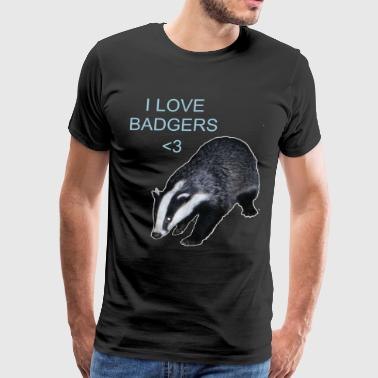 Badgers~ - Men's Premium T-Shirt