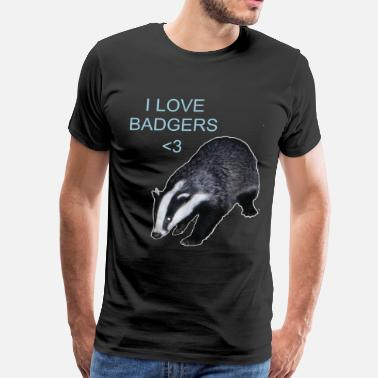 Badger Badgers~ - Men's Premium T-Shirt