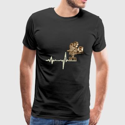 shirt gift heartbeat film technicians - Men's Premium T-Shirt