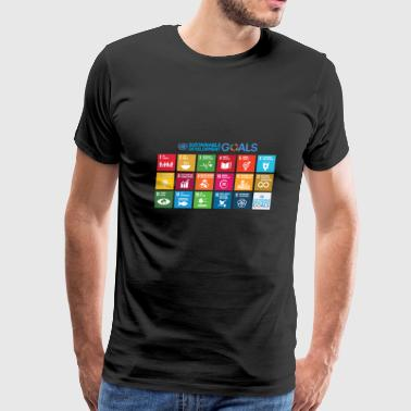 Sustainable Development Goals chart - Men's Premium T-Shirt