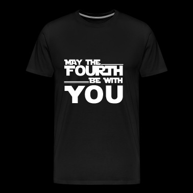 May The Fourth Be with you shirt - Men's Premium T-Shirt