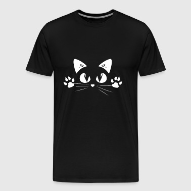 Cute cat eye limited - Men's Premium T-Shirt
