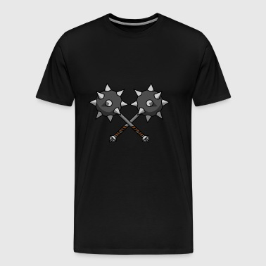 Dual Maces - Men's Premium T-Shirt