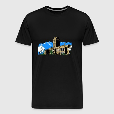 buildings - Men's Premium T-Shirt