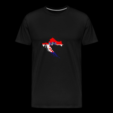 Croatia National Symbol - Men's Premium T-Shirt