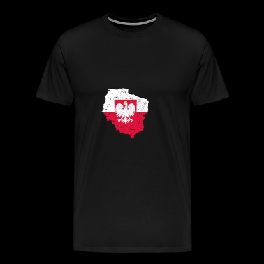 Poland National Symbol - Men's Premium T-Shirt