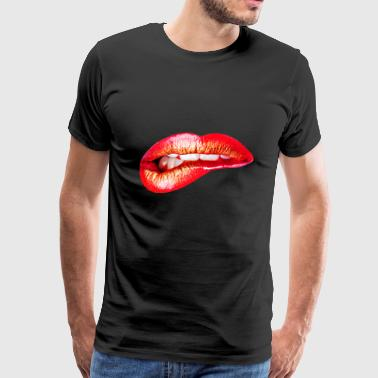 Lips - Men's Premium T-Shirt