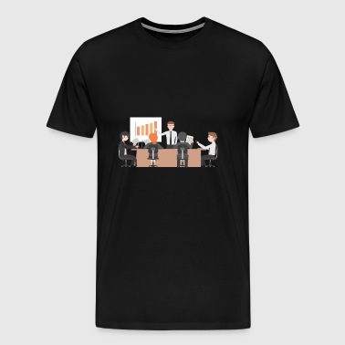 bussiness meeting - Men's Premium T-Shirt